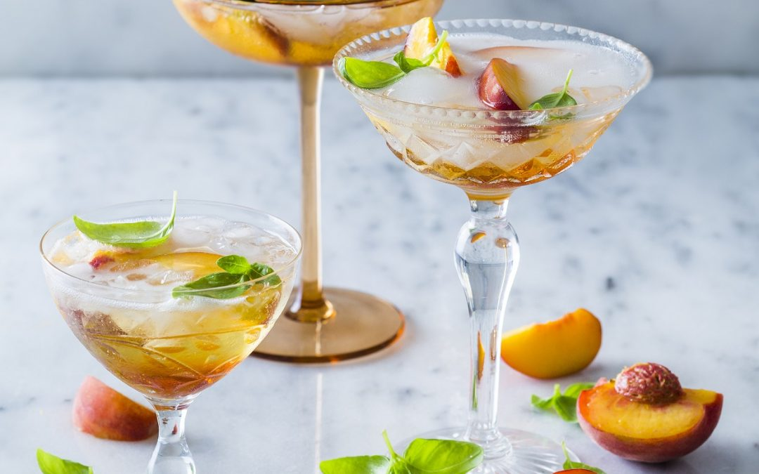 Peach Prosecco Cocktail