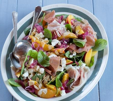 Nectarine & Parma Ham Salad